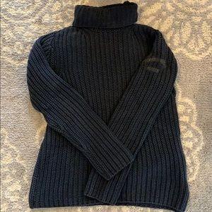 Calvin Klein Navy Cotton Sweater Sz M